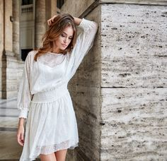 Silk dress, summer collection byCabo