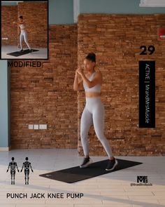 Fat burning cardio HIIT exercise for women who workout at home High intensive interval training(hiit), cardio training at home Fitness Workouts, Hiit Workout Videos, Full Body Hiit Workout, Cardio Workout At Home, Gym Workout Tips, Fitness Workout For Women, Sport Fitness, Body Fitness, Workout For Beginners