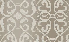 possible wallpaper for office above chair rail