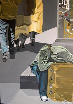 Exposition des peintures de PaCha à la Galerie H.Vernet. Du 16 au 29 décembre 2013 à la-londe-les-maures.