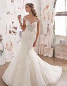a2376e67ac48 The Off The Shoulder Wedding Dresses You ve Always Dreamed Of