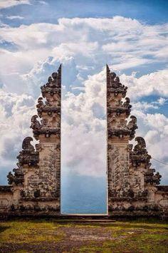 Pura Lempuyang door, Bali Indonesia