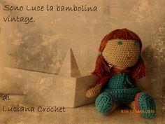 Luciana Crochet - fatto a mano: Luce, la bambolina dallo stile retrò