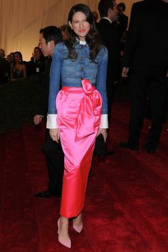 Jenna @ the met ball...