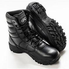 EXC Trooper Leather WP voděodolná profesionální vojenská a poli. Police, Military, Boots, Leather, Crotch Boots, Heeled Boots, Law Enforcement, Army, Shoe Boot