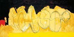 Robert Motherwell, The Hollow Men 1983