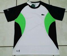 NWT Lacoste Andy Roddick Tennis Shirt Sport Men's Size 5 #Lacoste #AndyRoddick