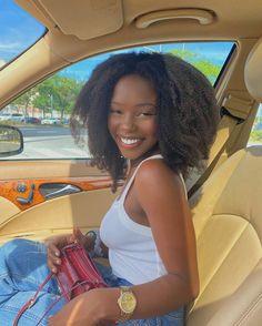 Pretty Black Girls, Beautiful Black Girl, Curly Wigs, Human Hair Wigs, Dark Skin Beauty, Hair Beauty, Curly Hair Styles, Natural Hair Styles, Big Natural Hair