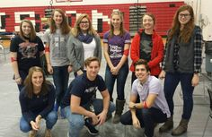 Congratulations to Madison Junior Senior High School - a CBC Red Cord Honor School for 2016! CBC's Bill Roy presented the award to National Honor Society volunteers, the student sponsor group for the MJSHS fall & spring blood drives.