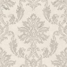 Papier peint vinyle Jade classic taupe, doré NO NAME Taupe, Beige, Hertex Fabrics, Fabric Suppliers, Persian, Sweet Home, Home And Garden, Chic, Wallpaper