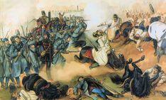 The Battle of Komarno Battle, History, Painting, Awakening, 19th Century, Winter, Hungary, Winter Time, Historia