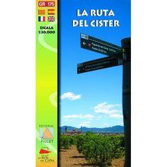 La Ruta del Císter [Document cartogràfic] : GR 175. Barcelona : Piolet, 2011 Barcelona, Letters, October, Barcelona Spain, Letter, Lettering, Calligraphy
