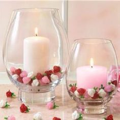 100 Beautiful Romantic Candle Decoration For Valentine's Day - New Ideas Valentines Day Party, Valentines Day Decorations, Valentine Day Crafts, Happy Valentines Day, Valentines Day Weddings, Valentinstag Party, Rose Fotografie, Saint Valentin Diy, Valentines Bricolage