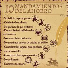 10 mandamientos del ahorro.