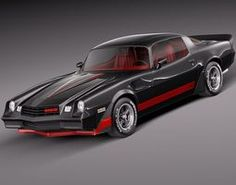 Chevrolet camaro 1969 z html 3D Models | CGTrader.com
