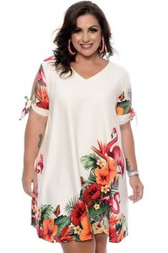 - Plus Size Casual Dresses - Ideas of Plus Size Casual Dresses Flattering Plus Size Dresses, Plus Size Summer Dresses, Simple Dresses, Plus Size Outfits, Casual Dresses Plus Size, Short African Dresses, Latest African Fashion Dresses, Korean Fashion, Curvy Fashion