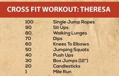 20 Effective Crossfit Workouts
