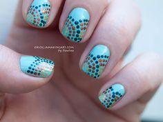 Aboriginal Design Inspired Nails