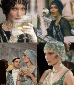Mia Farrow as Buchanan - The Great Gatsby 1974, Paramount Pictures