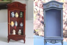 How To Rework And Refinish Simple Dollhouse Furnishings