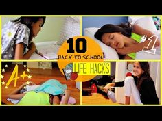 ▶ 10 Life Hacks for Back to School !! - YouTube