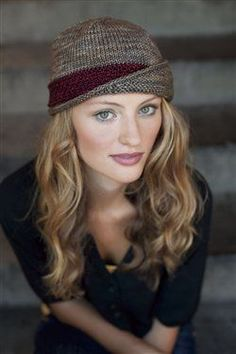 Lucy Hat - Knitting Daily.