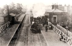 Ladywell Station, Ladywell, Lewisham - Lewisham Borough PhotosLewisham Borough Photos Uk History, Modern History, Local History, British History, Vintage London, Old London, Time Pictures, Old Pictures, Edwardian House
