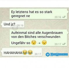 Lustige WhatsApp Bilder und Chat Fails 52 – Stalker – WitzeMaschine Lustige WhatsApp Bilder und Chat Fails 30 – Bitches ohne Augenbrauen Related posts:Funny Pranks To Be Played With BoyfriendBilderparade CDLXXVIII - Bilder, die. Text Message Fails, Funny Text Messages, Sister Birthday Quotes, Sister Quotes, Retro Humor, Funny Picture Quotes, Funny Quotes, Funny Humor, Funny Stuff