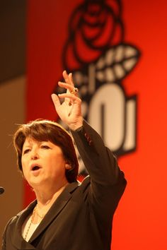 Martine Aubry, Leader of the French Socialist Party (Parti Socialiste).