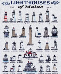 Mayne i could visit them all! More than 60 lighthouses dot the Maine coast from the well known Nubble Light in York to West Quoddy Head, the easternmost lighthouse in the United States. Lighthouse Pictures, Lighthouse Art, Rafting, Maine New England, Beacon Of Light, Am Meer, East Coast, Places To See, Surf