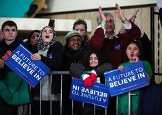 Why young women overwhelmingly support Sanders over Clinton. - What do you think debate squad? Is voting for Sanders really a feminist act?