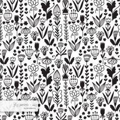 floral #pattern #surfacedesign #365 #365patterns #art #mzwonko