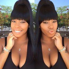 Updo hair styles for Black Women