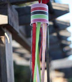 DIY Summer Windsock Craft for Kids