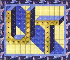University of Toledo Quilt Kit  at Creative Quilt Kits