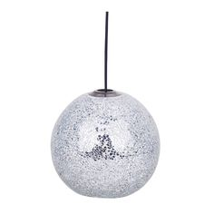 Buy Silver Crackle Pendant | Lighting | The Range
