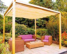 20 DIY Outdoor Curta