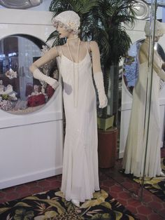 in Clothing, Shoes & Accessories, Vintage, Vintage Reproductions For Ensemble 34.99 http://www.ebay.com/itm/1920s-DRESS-1930s-GOWN-FLAPPER-Modern-Millie-GATSBY-DOWNTON-ABBY-DECO-CREAM-LG-/381153983633?pt=LH_DefaultDomain_0&hash=item58be8c3c91