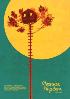 Moonrise Kingdom by Núria Tamarit Film Poster Design, Movie Poster Art, Graphic Design Posters, Poster On, Poster Designs, Wes Anderson Poster, Wes Anderson Movies, Cool Posters, Film Posters
