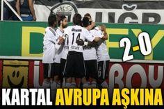 Kartal Avrupa aşkına: 2-0