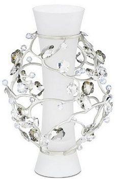 Swarovski Blossom Vase Crystal, 2008 Retirement