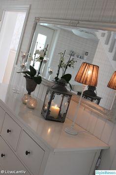 spegel,lantligt,lyktor,hall,lampa