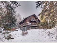 Chalet Tara - Stunning 3 star chalet on the mountains - Les Laurentides Regional County Municipality Quebec, Ontario, Canada, Cottage, Cabin, Mountains, Regional, House Styles, Tub