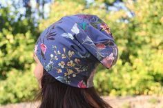 In this detailed photo tutorial you can see how the Universal cap is sewed.   The cap is suitable for kids, women and men, pattern covers sizes from newborn to 99 years :)   See more information on my blog where you can also buy the pattern.  #sewing #patterns