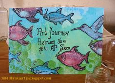 Art Journey Design-team: Art Journey Challenge # 44: Mail Art Envelope