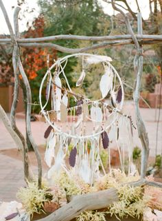 Dream Catcher- each guest writes on a paper feather.
