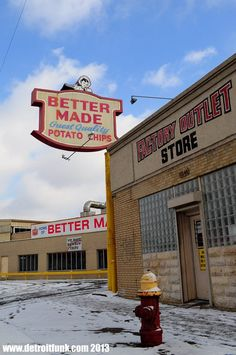 Aww yeah, a Detroit original!! What's your favorite product from Better Made Snack Foods?