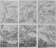 Le Siège de la Rochelle Egalement 6 planches de chacune 564x449 cm
