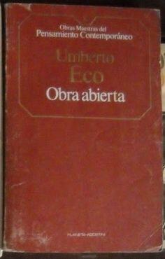 Eco Umberto, OBRA ABIERTA