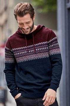 A Fairisle Pattern will give your outfit a festive look that's still stylish! Go for berry tones for an extra wintery vibe!